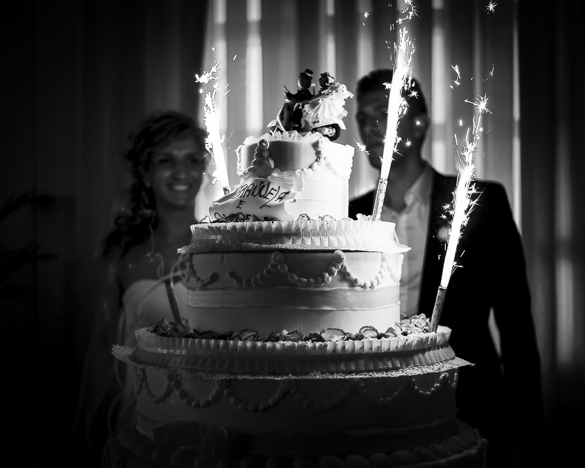 l'arrivo della torta