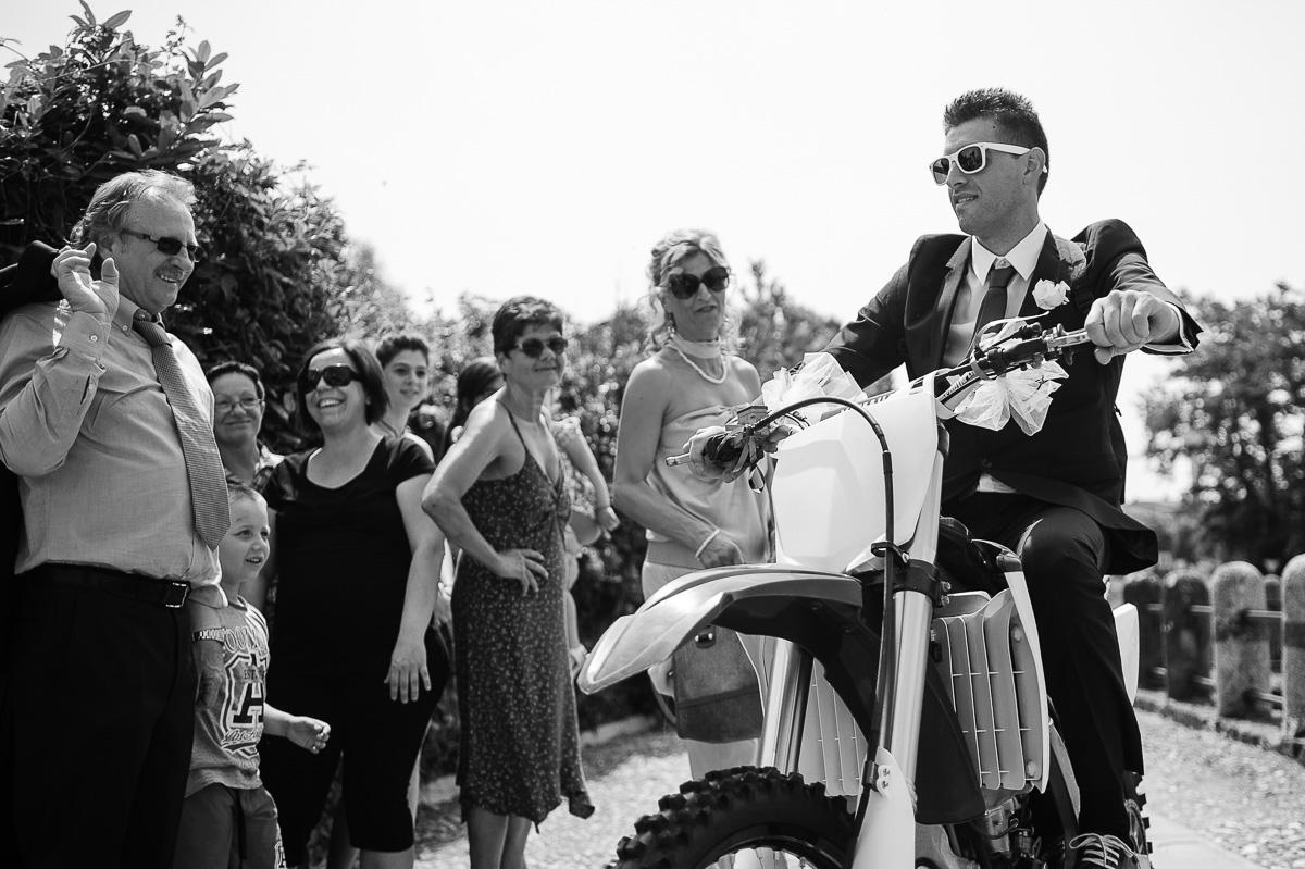 Arrivo dello sposo