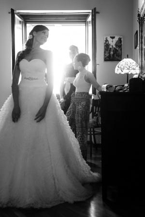 Preparazione della sposa